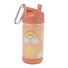 Sugarbooger : Flip & Sip Drinkfles Rainbows & Sunshine - SBA1397