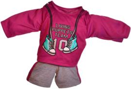 Living Puppets : Kledij  65 cm Sportkleding - W698
