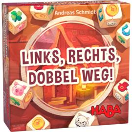 Haba : Spel Links, Rechts, Dobbel Weg! - 305294