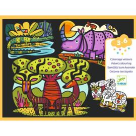 Djeco : Viltschilderijen Savanna - 9622