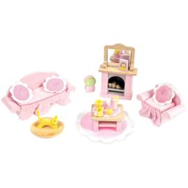 Le Toy Van : Poppenhuiskamer Daisylane Woonkamer - ME058