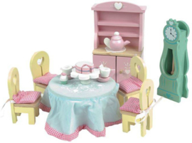 Le Toy Van : Poppenhuiskamer Daisylane Eetkamer - ME056