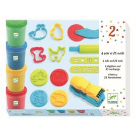 Djeco : Starter Kit Boetseren met Plasticine