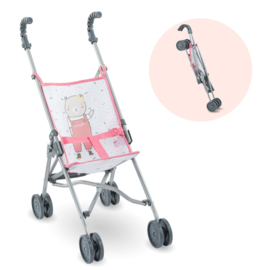 Corolle Roze Buggy voor 36 cm en 42 cm babypop  - 14072