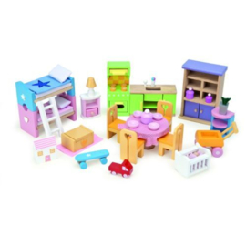 Le Toy Van : Poppenmeubilair Startersset - ME040