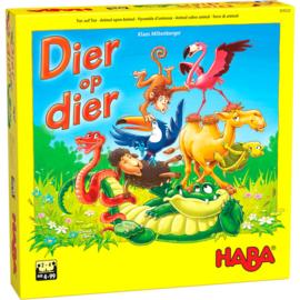 "Haba : Spel ""Dier op Dier Het Wankele Stapelspel"" - 305522"