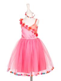 Souza for Kids : Roze Jurk Alicia met pompoms - 100557