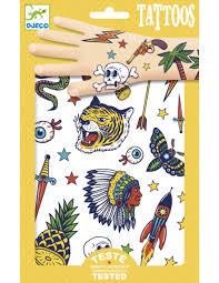 Djeco : Tattoos Bang Bang - 9577