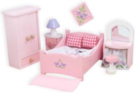 Le Toy Van : Poppenhuiskamer Daisylane Ouders Slaapkamer - ME057