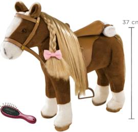 Götz : Bruin Paard met Zadel - 3402375