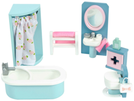 Le Toy Van : Poppenhuiskamer Daisylane Badkamer - ME060