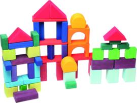 Grimm's :  60 delige houten blokkenset - 10120