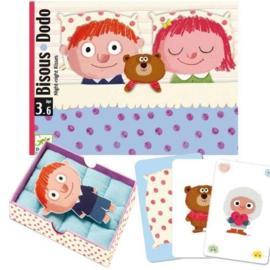 Djeco : Kaartspel Bisous Dodo- 5176
