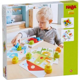 Haba : Insteekspel Kakelbonte wereld - 303709
