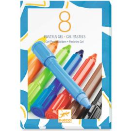 Djeco : Gel Pastels - 8812