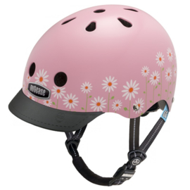 Nutcase Fietshelm : Little Nutty Daisy Pink - 1096-XS