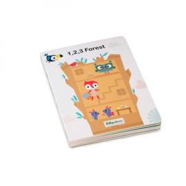 Lilliputiens : Puzzelboek 1,2,3 Forest - 83227