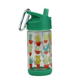 Sugarbooger : Flip & Sip Drinkfles Happy Cactus - SBA1270