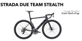 3T Strada Due Team Stealth Red Etap (2x12S)