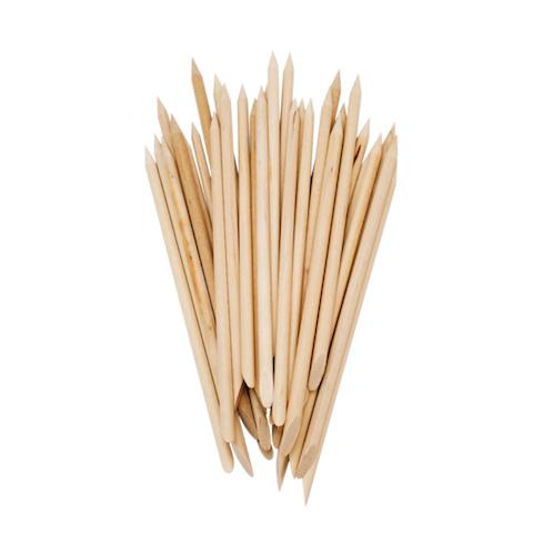 Orange woodstick set (6st.)