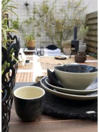 Set van 2 keramieke koffiekopjes, leuk in combinatie met de theepot