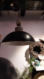 Industriële lamp  doorsnede 33 cm antraciet