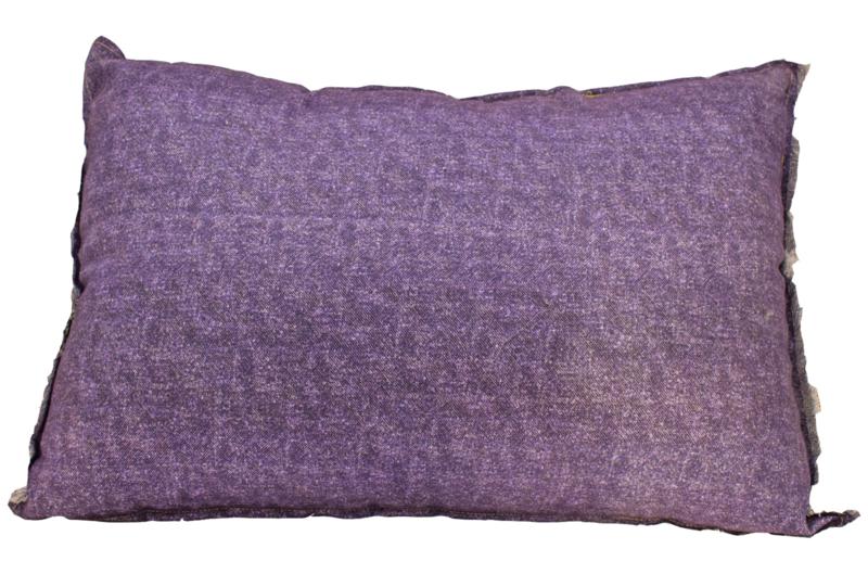 kussen Imbarro kleur paars