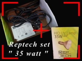 Reptech 35 watt SETPRIJS