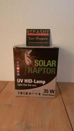 !!! AANBIEDING !!! Schakelbare Philips VSA + Solar Raptor 35W ( flood ) HID lamp
