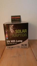 !!! AANBIEDING !!! Schakelbare Philips VSA + Solar Raptor 70W ( flood ) HID lamp