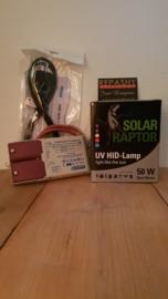 VSA (nieuw) + HID SOLAR RAPTOR 50 watt -> SETPRIJS