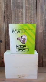 Reptech Kwikdamplamp 80 W