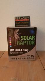 !!! AANBIEDING !!! Schakelbare Philips VSA + Solar Raptor 70W ( spot ) HID lamp