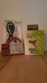 VSA (nieuw) + HID REPTECH 50 watt -> SETPRIJS