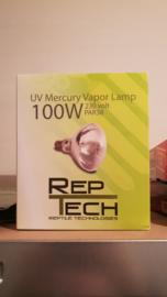 Reptech Kwikdamplamp 100 watt