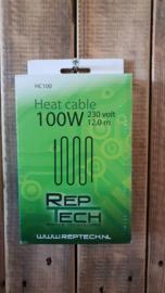 Warmtekabel 100 W ( 12 meter )