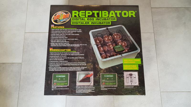 ZooMed Reptibator Egg Incubator