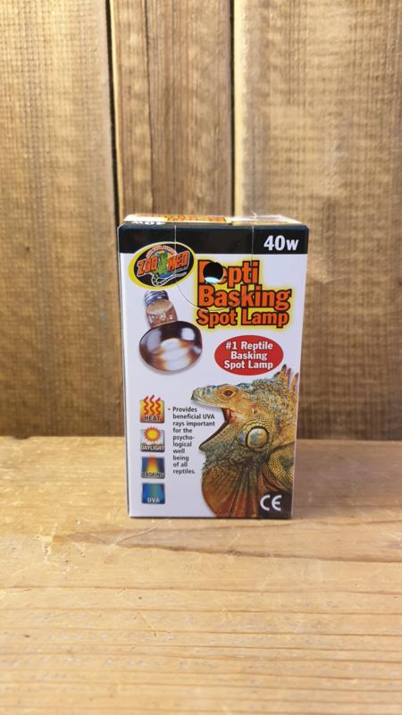 Zoomed Repti Basking spot. 40 Watt. VALUEPACK ( 2 stuks )