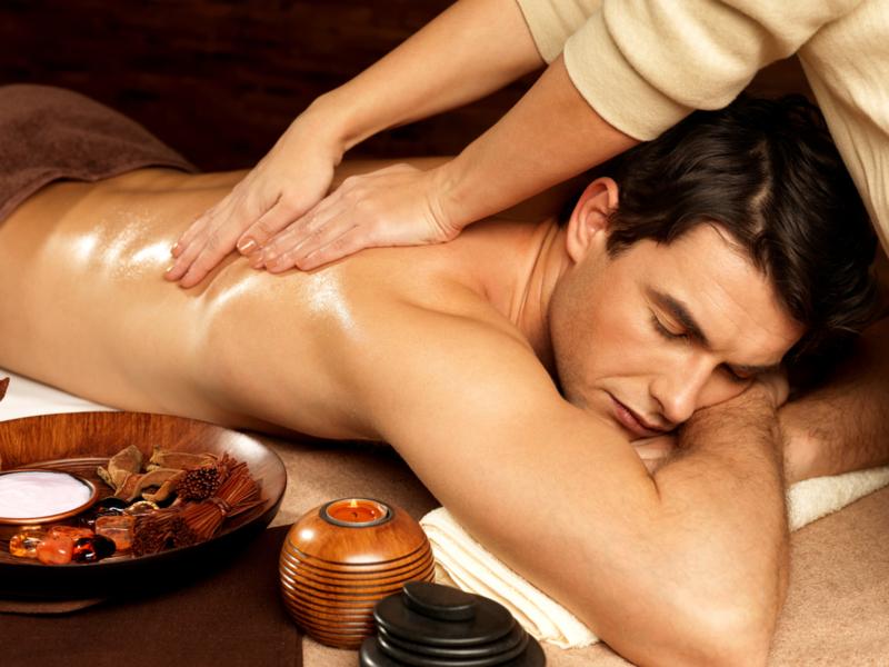 1 ltr. Geurende massage olie