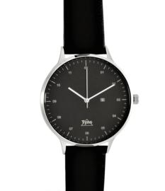Tyno classic zilver zwart 201-002 zwart
