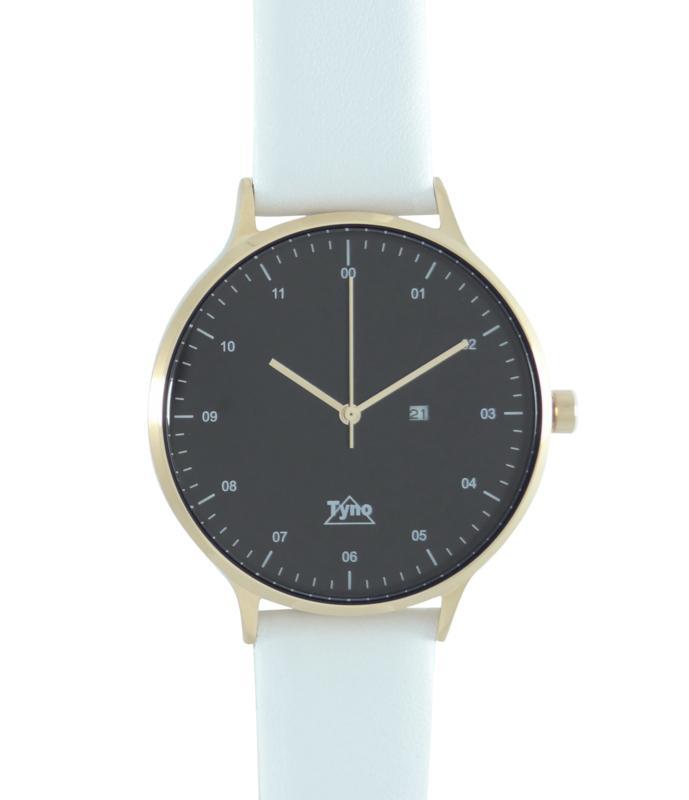 Tyno classic Rosé goud zwart 201-005 wit