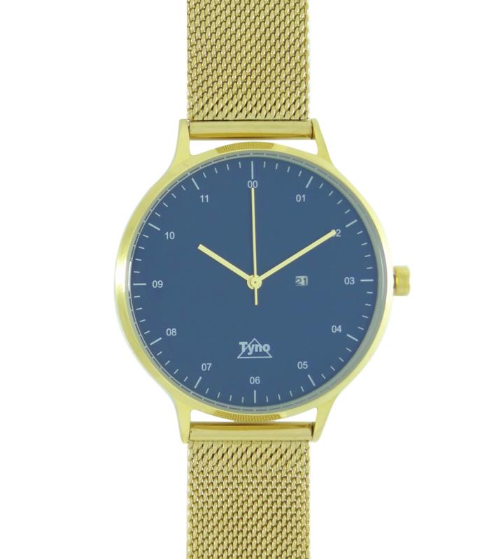 Tyno classic Goud blauw 201-009 mesh