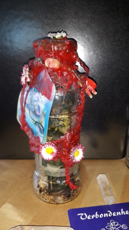 verbondenheid verwondering witch bottle