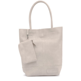 Zebratrends natural bag kartel lichtgrijs