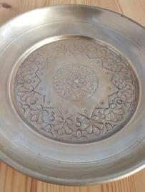 Decoratieve schaal aluminium