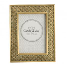 Fotolijstje Clayre & Eef binnenmaat 6 x 9 cm