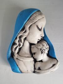 Maria met Jezus muurbeeldje