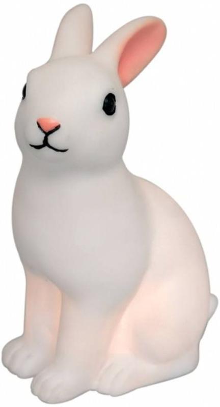 Retro konijn nachtlampje