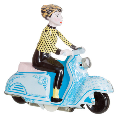 Scootergirl retro