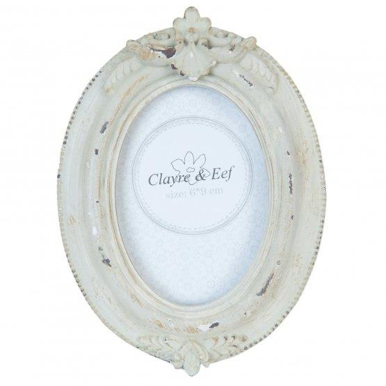 Fotolijst Clayre & Eef binnenmaat 6 x 9 cm